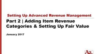 #84 | NetSuite Part 2 - Adding Item Revenue Categories & Setting Up Fair Value
