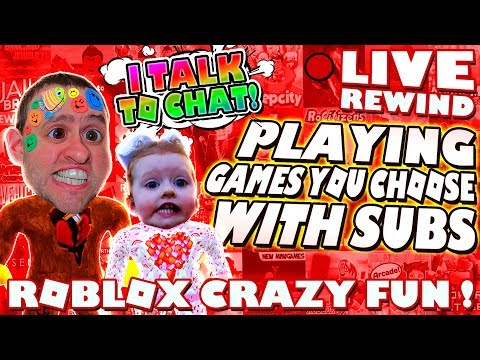 ROBLOX CRAZY FUN ! Playing LOADS of Games with SUBS | Road to 4000 ► Roblox Comedy PRO PC 🔴 Live RW