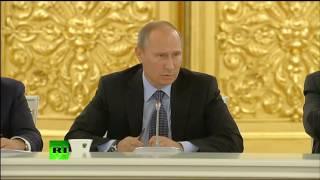 Путин׃ в Конгрессе врут про Сирию