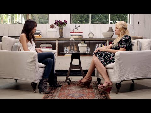 Ashley Madekwe  The Conversation With Amanda de Cadenet  LStudio created by Lexus