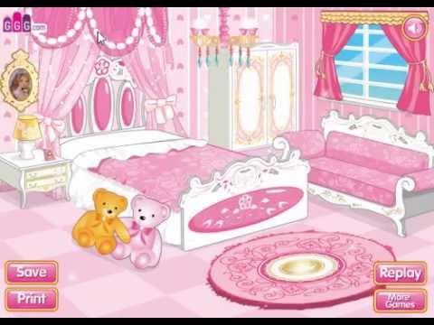 เกมส์แต่งบ้าน เกมส์ เกมส์แต่งห้องนอนแบบเจ้าหญิง