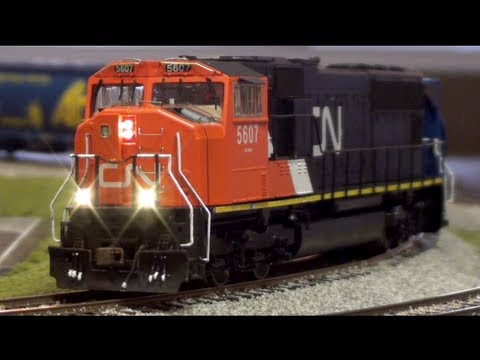 Layout Update - May 2013: CN SD70i finished, new locos/rolling stock, coal spur and tipple progress