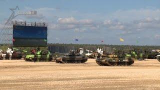 Белорусские танкисты - ПЕРВЫЕ!