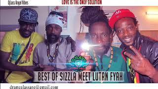 Sizzla Meet Lutan Fyah Best Of Reggae Mixtape By DJLass Angel Vibes (May 2019)