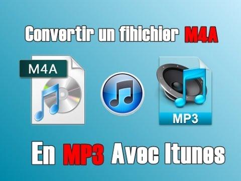 EPISODE 3 # Convertir un fichier M4A en MP3 avec Itunes