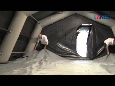 643 & INFLATABLE TENT - YouTube