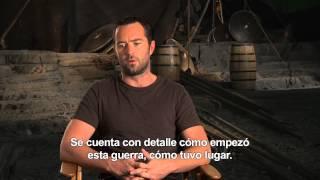 300: El Origen de un Imperio - Entrevista Sullivan Stapleton (Temístocles) HD