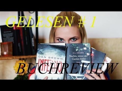 Gelesen Nr. 1   Buchreview   Thriller, Liebesroman, Komödie