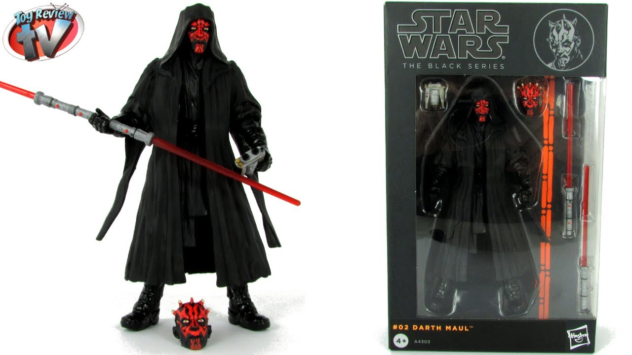 Darth Maul 6 inch Black Series Star Wars Action Figure