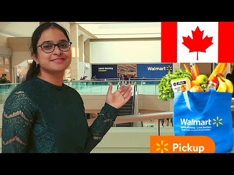Canada Grocery Shopping At Walmart...