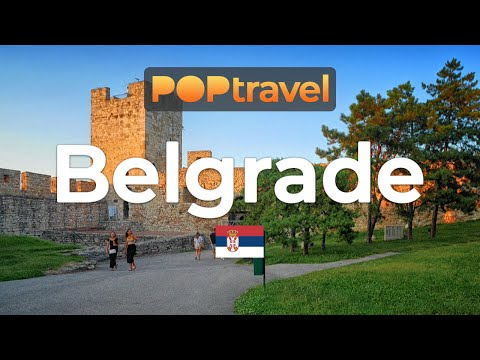 Walking in BELGRADE / Serbia 🇷🇸- 4K 60fps (UHD)
