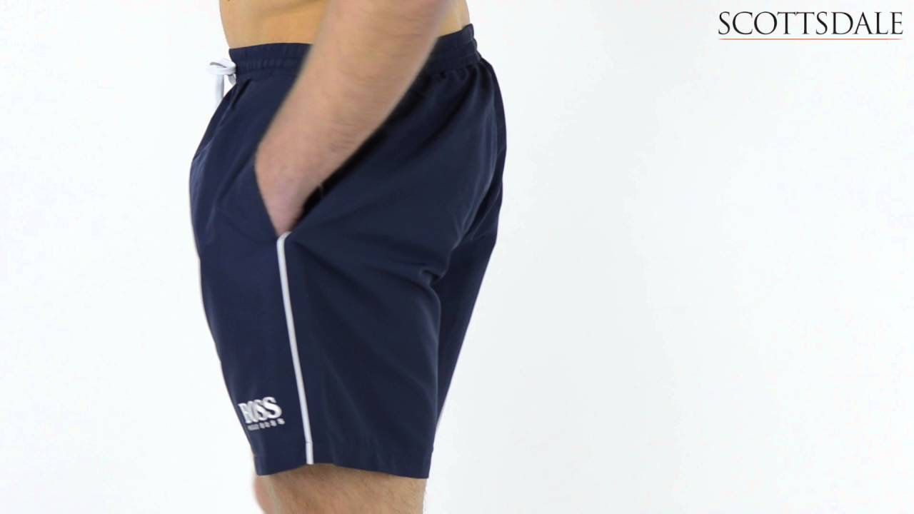 c5f32bd85d4a Hugo Boss Starfish Swim Shorts Navy - YouTube