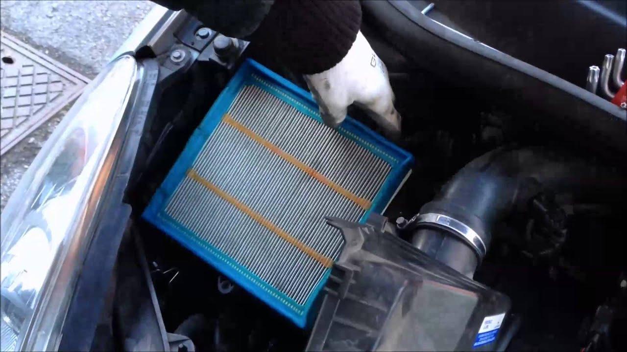 Sostituzione filtro aria motore opel corsa d 1 2 benzina for Filtro aria cabina passat 2012