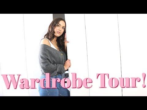 MY WARDROBE/CLOSET TOUR!