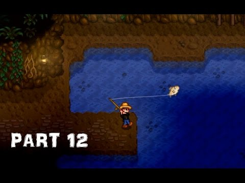 Stardew valley ps4 part 12 ghost fish backpack floor for How to fish in stardew valley ps4