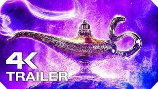 АЛАДДИН Русский Трейлер #1 (Walt Disney, 4K ULTRA HD) НОВЫЙ 2019 Мена Массуд, Уилл Смит