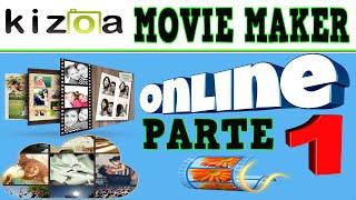 Parte 1 | Movie Maker Online | Como Crear Tu Video Con Fotos Musica y Animaciòn | Plantillas...!!!