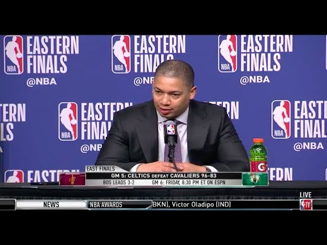 coach-tyronn-lue-eastern-conference-finals-game-5-press-conference