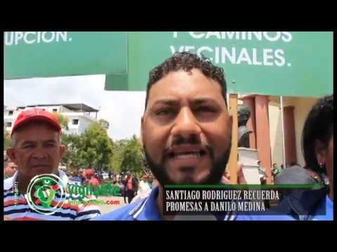 Santiago Rodríguez recuerda promesas de  Danilo Medina