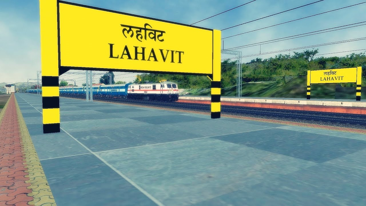 KHANDESH ROUTE || Beautiful Scenery with Tall Mountains || MSTS Open Rails