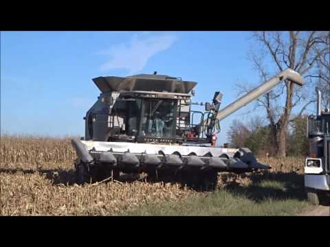 My Ride In A 2013 Gleaner S77 Combine