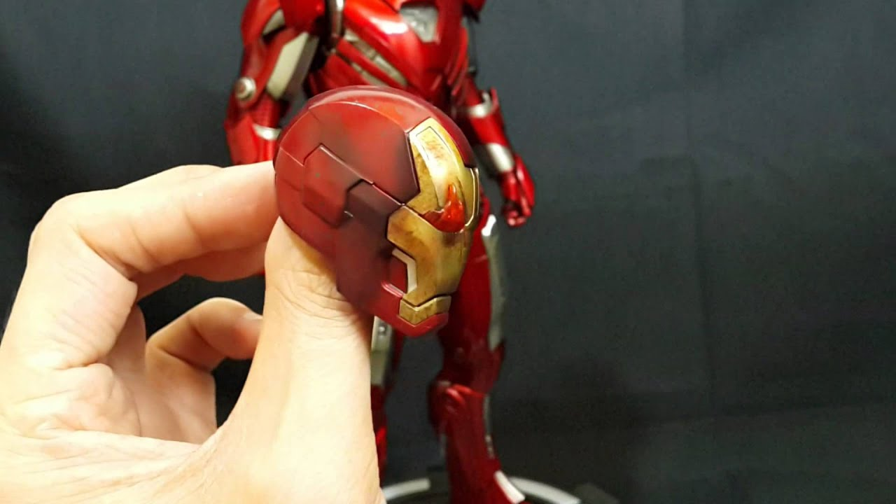 Hot toys Iron Man Mark XXXIII - OMG mime Showcase - YouTube