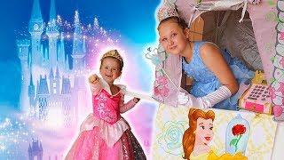 Ruby & Bonnie Pretend Play Magic Barbie Doll Princess DRESS UP & Makeup Toys