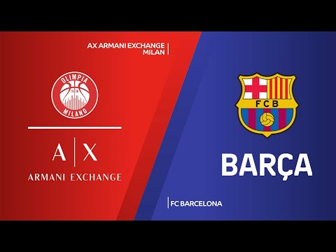 AX Armani Exchange Milan - FC Barcelona Highlights   Turkish Airlines EuroLeague, RS Round 30