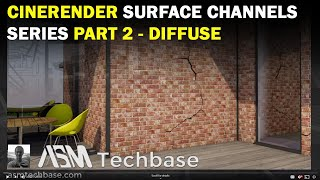 CineRender Surface Settings Series Part 2 Diffuse Channel in ARCHICAD