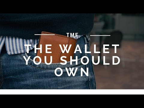 The One Wallet Every Man Needs | Slim Wallet Review