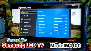 Samsung HD TV M4100 Series 4 80cm 32 HD TV M4100 Series 4 fast smart TV Samsung LED TV demo