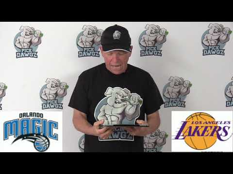 Los Angeles Lakers vs Orlando Magic 1/15/20 Free NBA Pick and Prediction NBA Betting Tips