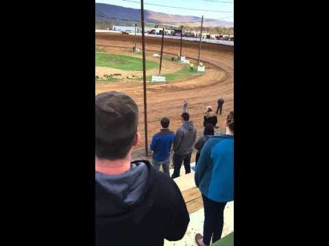 Tori Hyson National Anthem Path Valley Speedway, Fred Rahmer Promotions