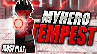 The FINAL STAND of My Hero Academia! | Hero Academy Tempest in Roblox | MUST PLAY! | iBeMaine