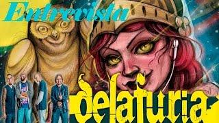 Entrevista a Delafuria - In da haus con Made in Metal