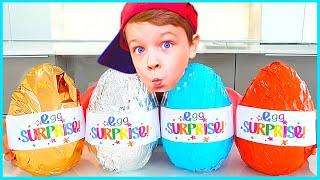 Андрей и Настя и забавная история для детей про сладости и шоколад