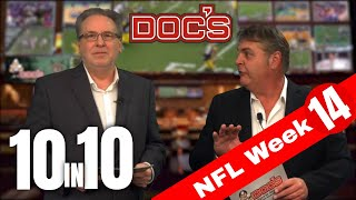 NFL Picks Week 14, Football Betting Analysis | The 10 IN 10 Show