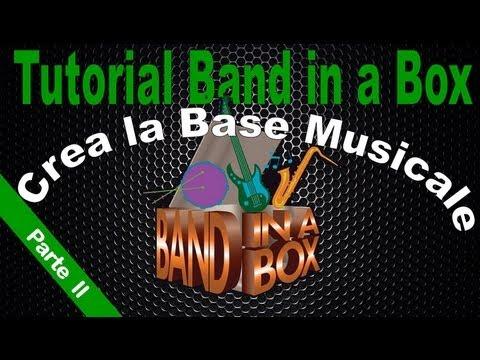 Crea la tua Base Musicale con Band in a Box RealTracks (Parte II)