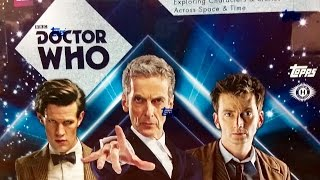 Topps 2015 Doctor Who trading card case break