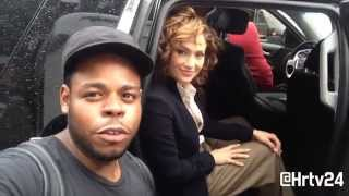 Fan meets Jennifer Lopez aka Jlo on set of Shades of Blue thumbnail