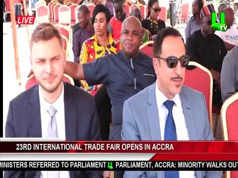 23rd International Trade Fair Opens In Accra