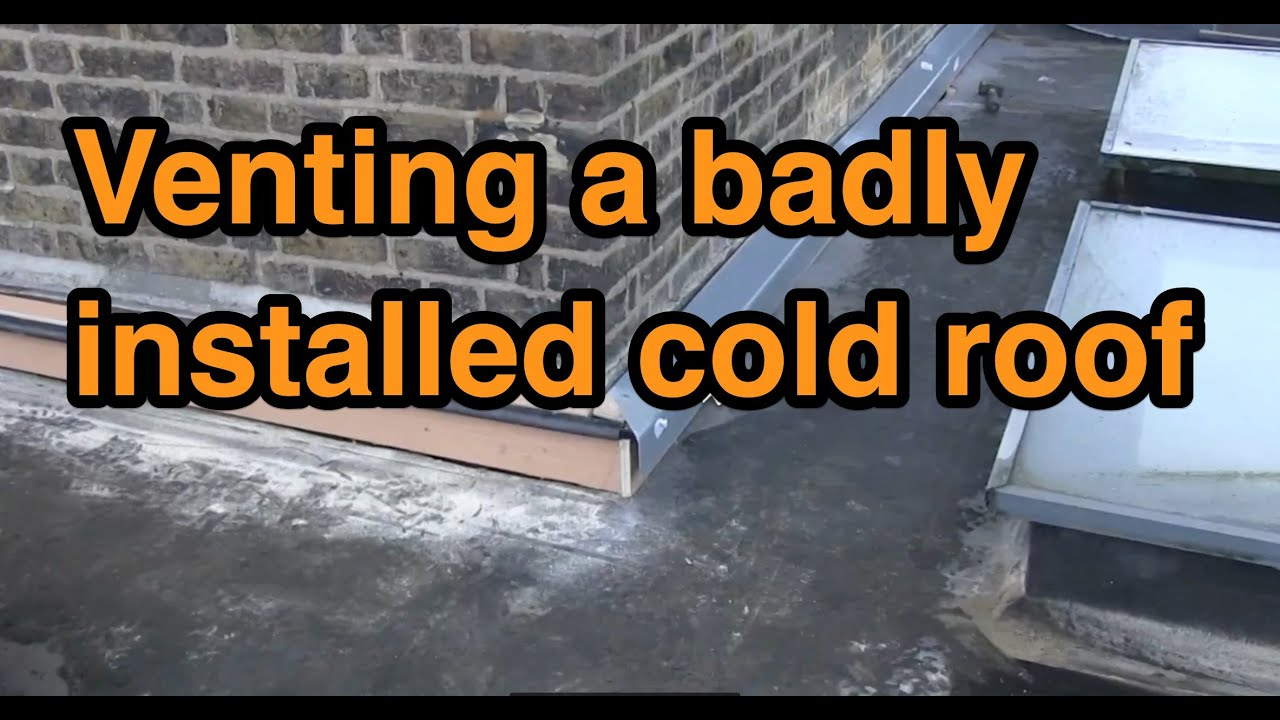 Parapet Wall Thermal Bridging And Sweating New Coping Stones And Ventilation Youtube