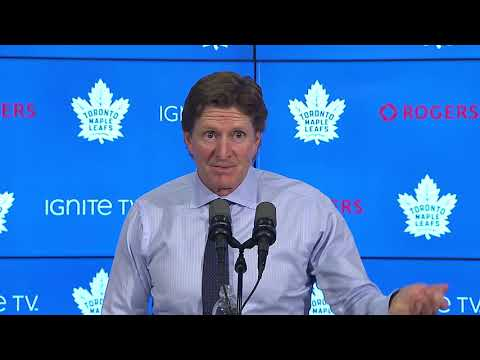 Maple Leafs Post-Game: Mike Babcock - October 18, 2018