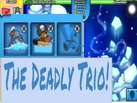 BTD Battles | Eco Battle on Ice Flow!