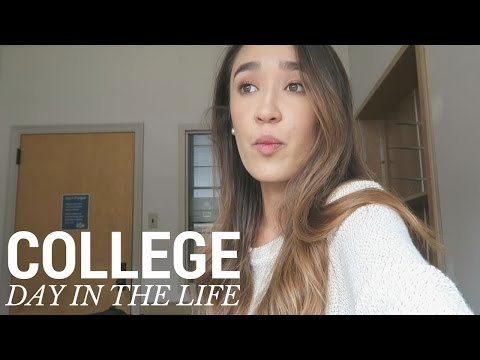 COLLEGE DAY IN THE LIFE | Rachael Steed