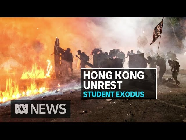 Hong Kong protests spark call for Australian university students to come home | ABC News