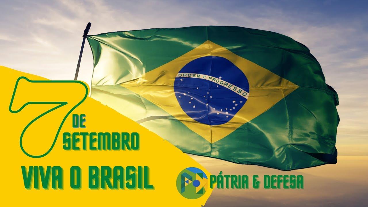 Parabéns a todos os Brasileiros, 7 de Setembro Dia da Independência.