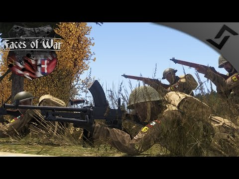 Canadians push into the Reich 1945 - ARMA 3 Faces of War WW2 Mod - Bren Gunner Gameplay