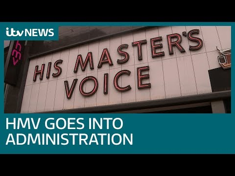 HMV goes into administration for second time in six years | ITV News