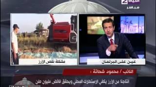 بالفيديو.. عضو لجنة الزراعة: محصول الأرز تم تهريبه للسودان